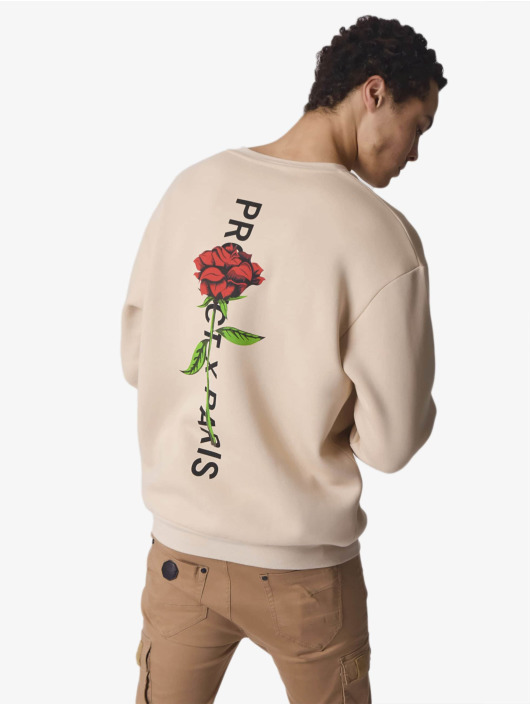 Project X Paris Пуловер Rose Back бежевый