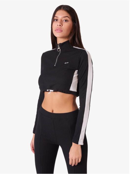 Project X Paris Пуловер Elastic Crop черный