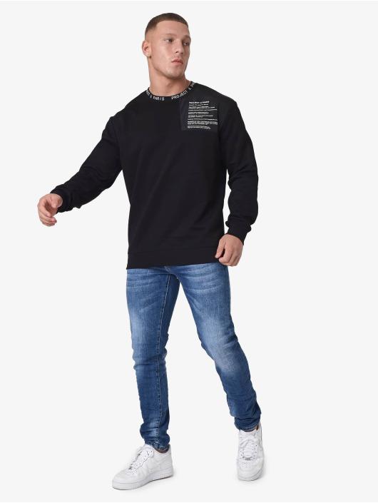 Project X Paris Пуловер text message Yoke черный