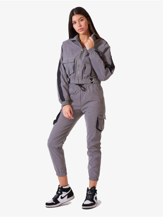 Project X Paris Спортивные брюки Oversize Pockets серый
