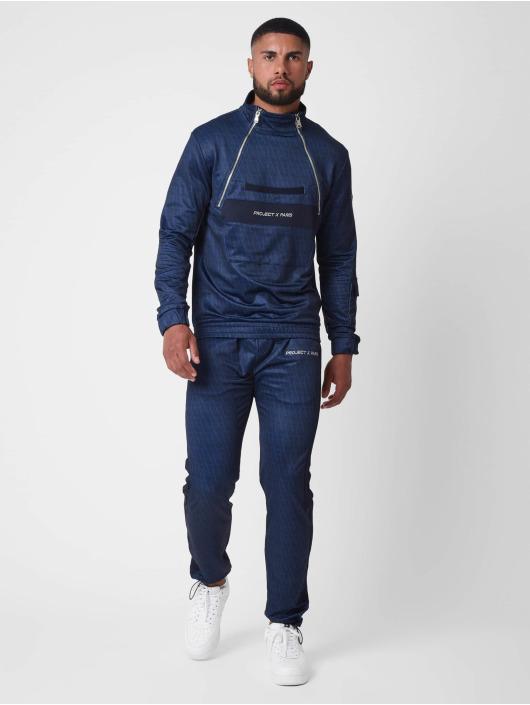 Project X Paris Спортивные брюки Monogram print синий