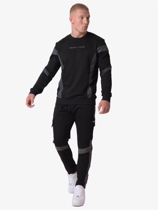 Project X Paris Спортивные брюки Reflective Panel черный