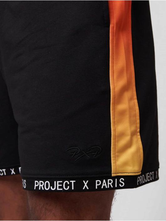Project X Paris Шорты Gradient Printed Band черный