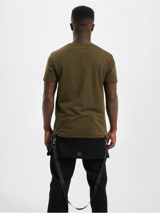 Project X Paris Camiseta Mesh caqui