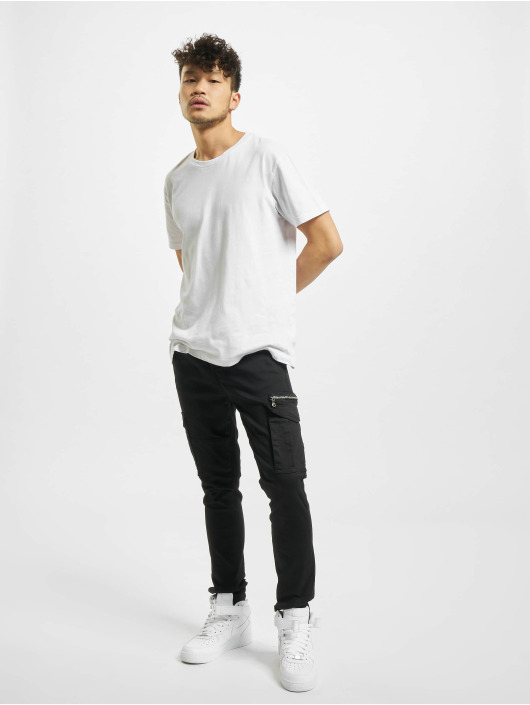 Project X Paris Cargo pants Patch Pockets čern