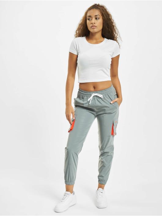 Project X Paris Cargo pants Oversize Pockets stříbro