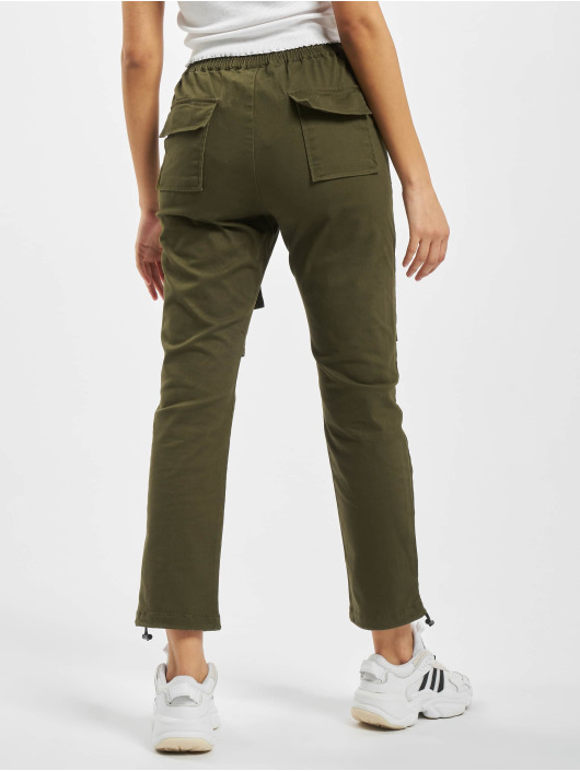 Project X Paris Cargobroek Pockets and Strap detail khaki