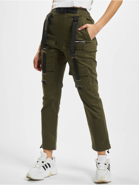 Project X Paris Chino bukser Pockets and Strap detail khaki