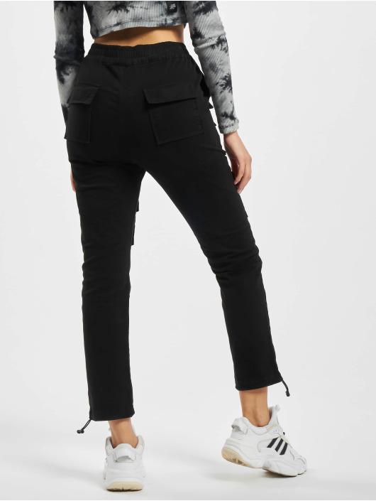 Project X Paris Chino bukser Pockets and Strap detail svart