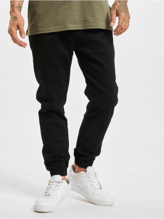 Project X Paris dżinsy przylegające Jog-style Basic czarny