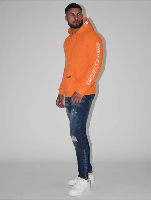 Project X Paris Hoodie Basic apelsin
