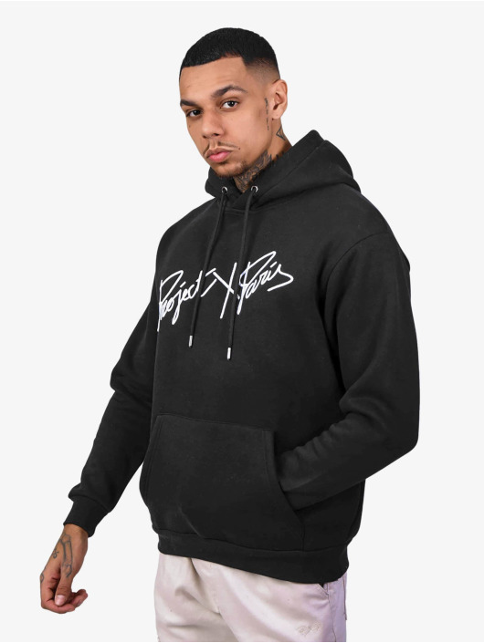 Project X Paris Hoodie Logo Embroidery black