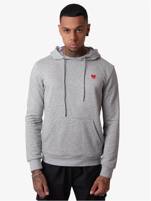 Project X Paris Hoodie Red Heart grey