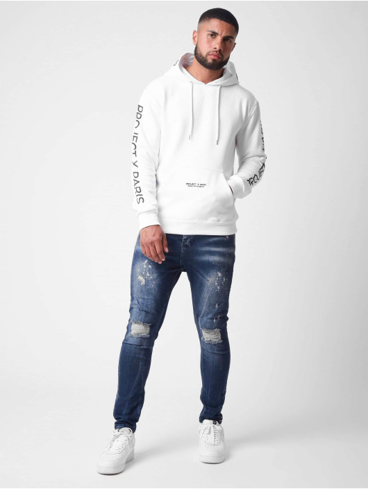 Project X Paris Hoodie Basic vit