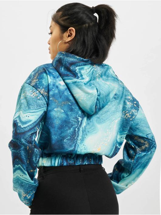 Project X Paris Hoodies Liquid Gradient modrý