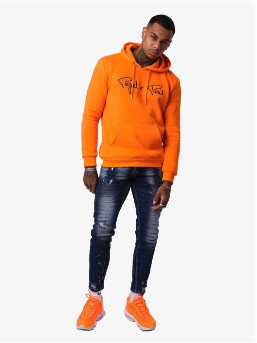 Project X Paris Hoody Logo orange