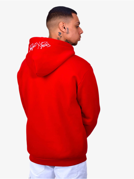 Project X Paris Hoody Logo Embroidery rood