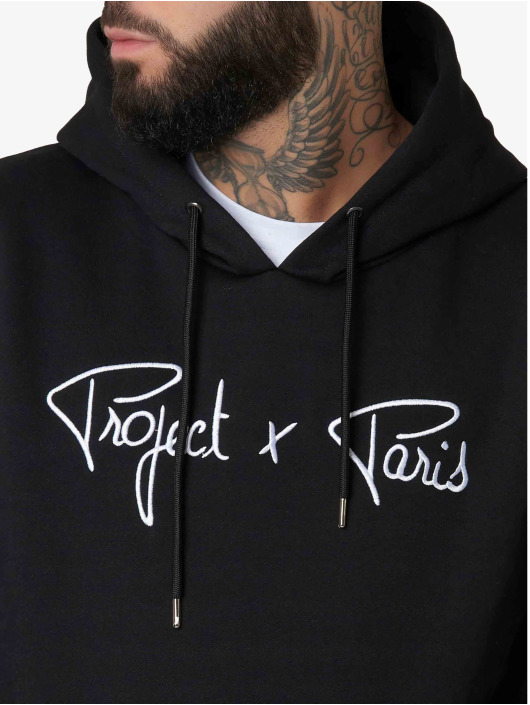 Project X Paris Hoody Logo schwarz