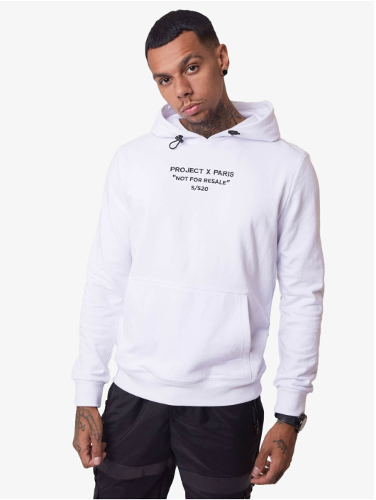 Project X Paris Hoody Not For Resale weiß
