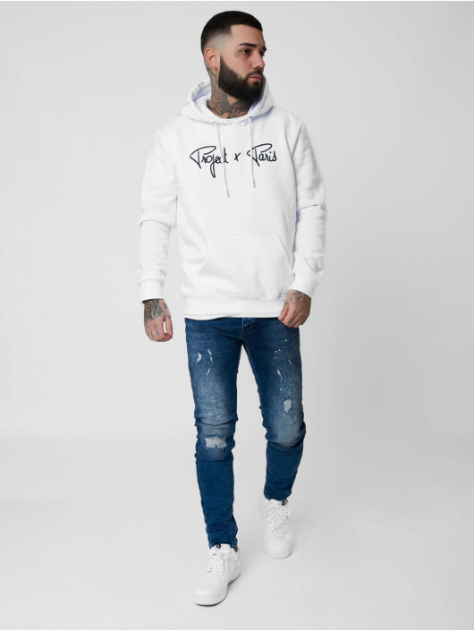 Project X Paris Hoody Logo wit