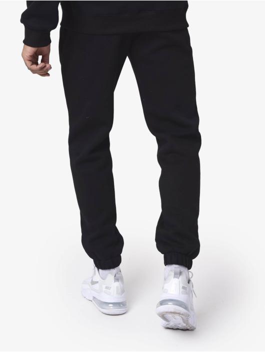 Project X Paris Jogging kalhoty Basic Fleece Jogger čern