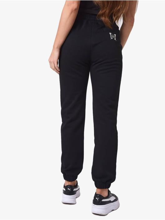 Project X Paris Jogging kalhoty Butterfly čern