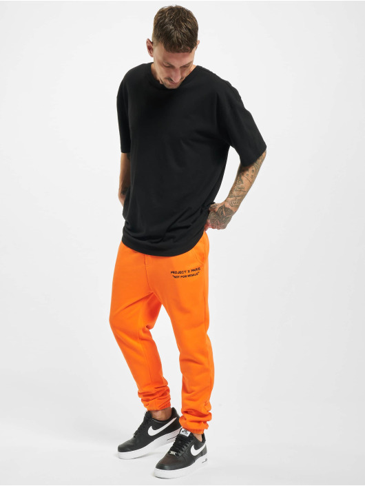Project X Paris Jogging kalhoty Classic oranžový