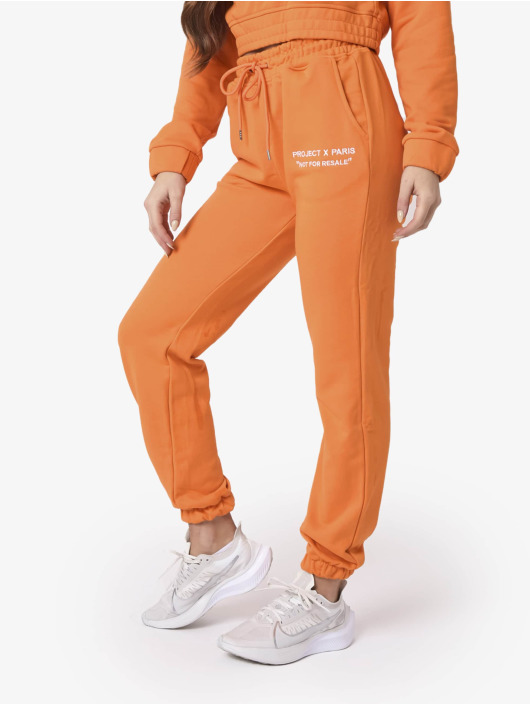 Project X Paris Jogging Not For Resale orange