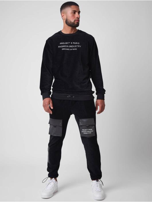 Project X Paris joggingbroek Corduroy zwart
