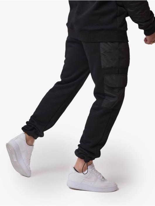 Project X Paris joggingbroek Quilted zwart