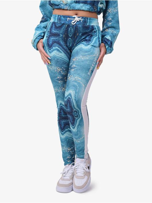 Project X Paris Joggingbyxor Liquid Gradient blå