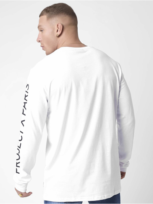 Project X Paris Maglietta a manica lunga Basic bianco