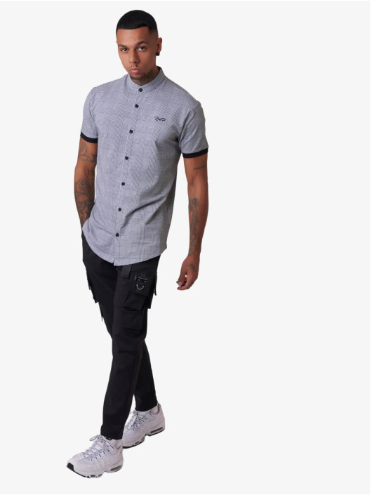 Project X Paris overhemd Shortsleeve zwart