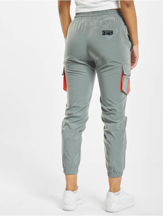 Project X Paris Pantalon cargo Oversize Pockets argent