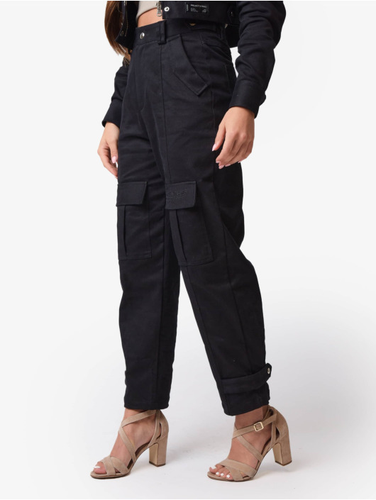 Project X Paris Pantalon cargo Sweat noir