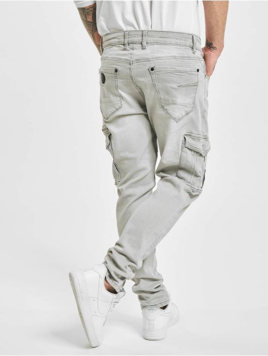 Project X Paris Pantalone Cargo Patch grigio
