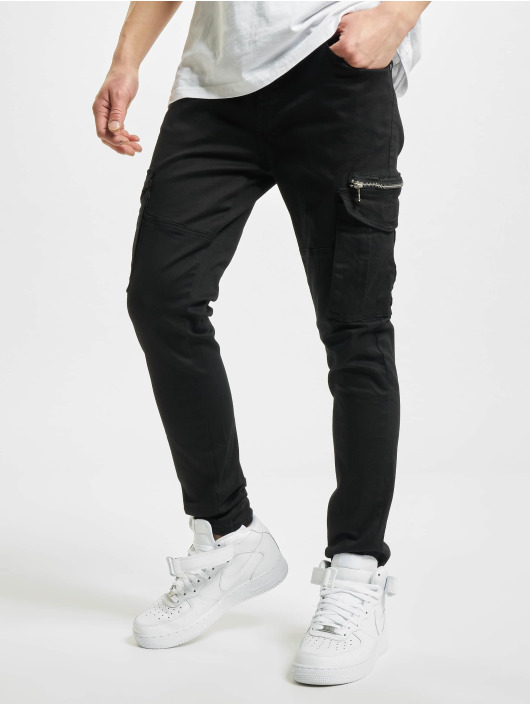 Project X Paris Pantalone Cargo Patch Pockets nero