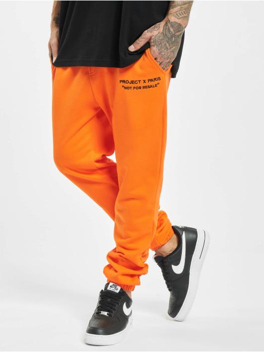 Project X Paris Pantalone ginnico Classic arancio