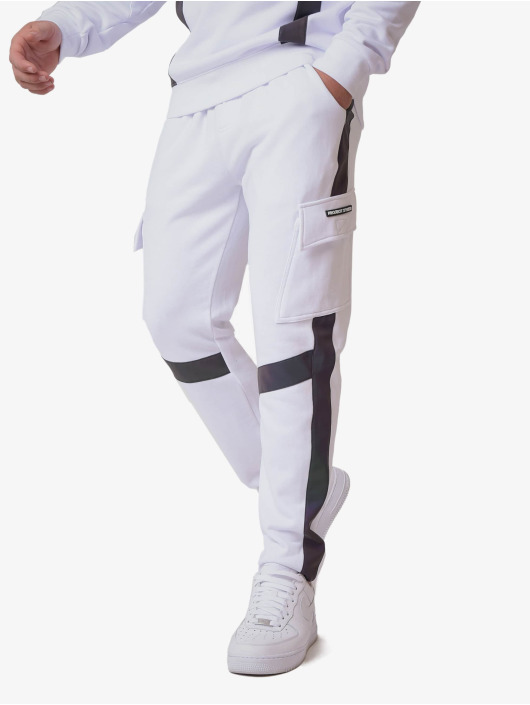 Project X Paris Pantalone ginnico Reflective Panel bianco