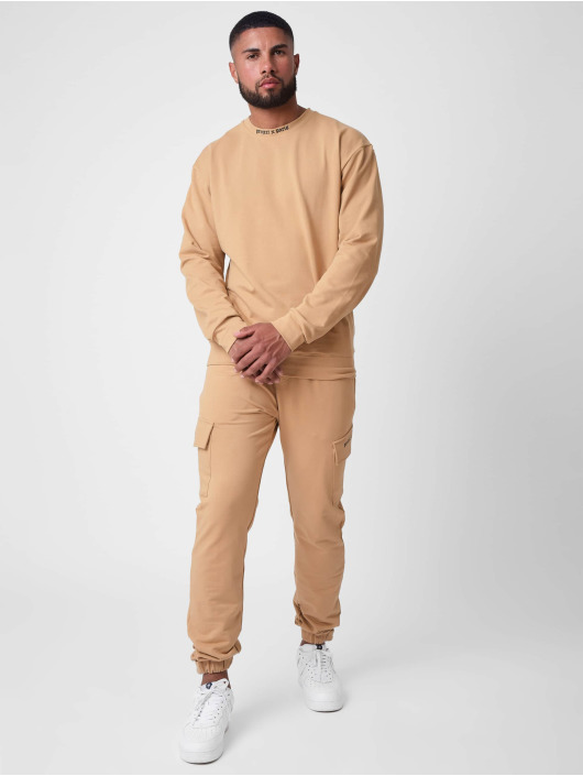 Project X Paris Pantalone ginnico Gothic print Pocket marrone