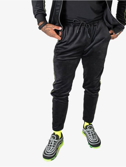 Project X Paris Pantalone ginnico Velvet nero