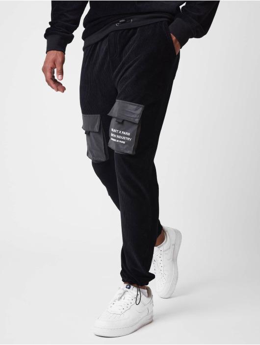 Project X Paris Pantalone ginnico Corduroy nero