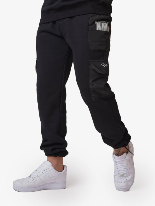 Project X Paris Pantalone ginnico Quilted nero