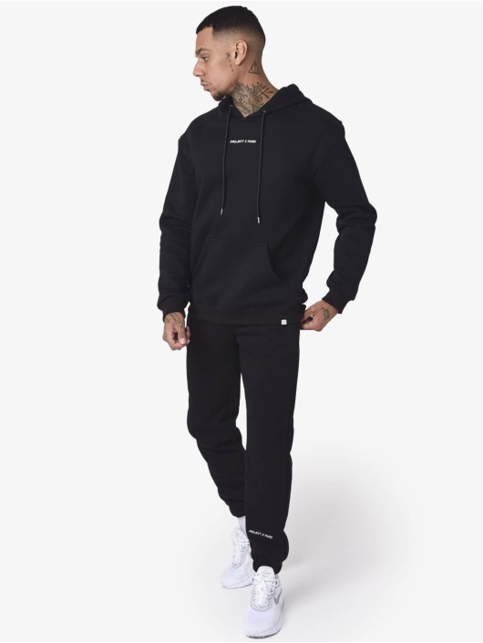 Project X Paris Pantalone ginnico Basic Fleece Jogger nero