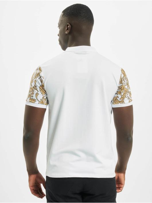 Project X Paris Poloshirt Zip-Neck Baroque Style white