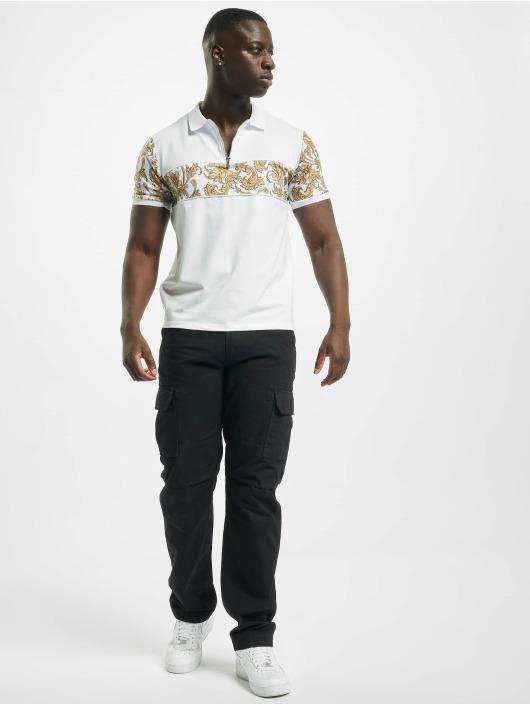 Project X Paris Poloskjorter Zip-Neck Baroque Style hvit