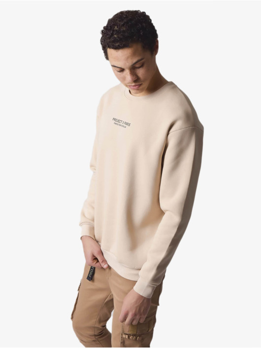 Project X Paris Pullover Rose Back beige