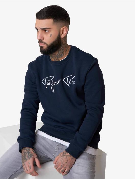 Project X Paris Pullover Chest Logo blau