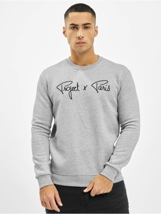 Project X Paris Pullover Chest Logo gray
