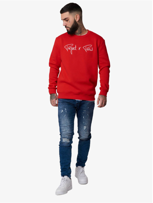 Project X Paris Pullover Chest Logo red